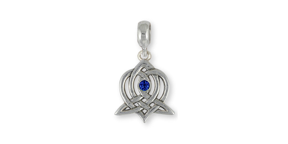 Sister Celtic Knot Charms Sister Celtic Knot Charm Slide Sterling Silver Celtic Knot Jewelry Sister Celtic Knot jewelry