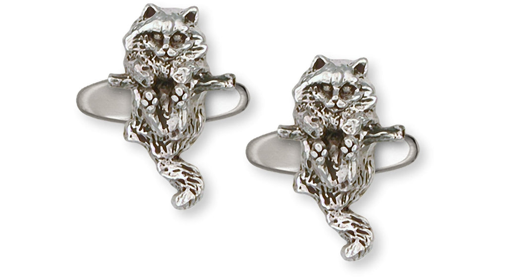 Cat Charms Cat Cufflinks Sterling Silver Cat Jewelry Cat jewelry