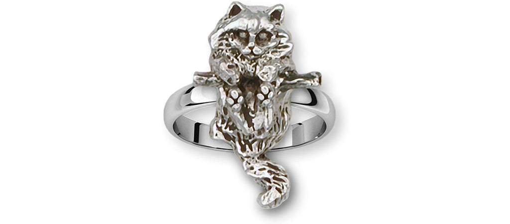 Cat Charms Cat Ring Sterling Silver Cat Jewelry Cat jewelry