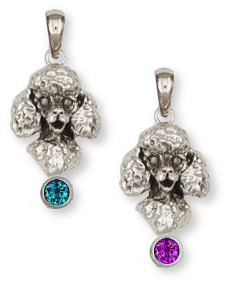 Poodle Charms Poodle Pendant Handmade Sterling Silver Dog Jewelry Poodle jewelry