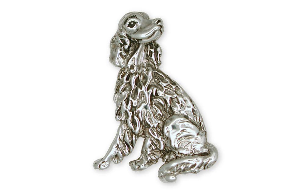 Irish Setter Charms Irish Setter Brooch Pin Sterling Silver Dog Jewelry Irish Setter jewelry