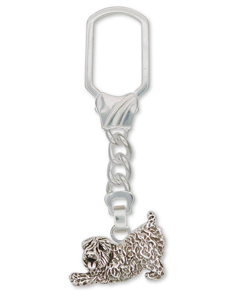 Soft Coated Wheaten Charms Soft Coated Wheaten Key Ring Sterling Silver Dog Jewelry Soft Coated Wheaten jewelry