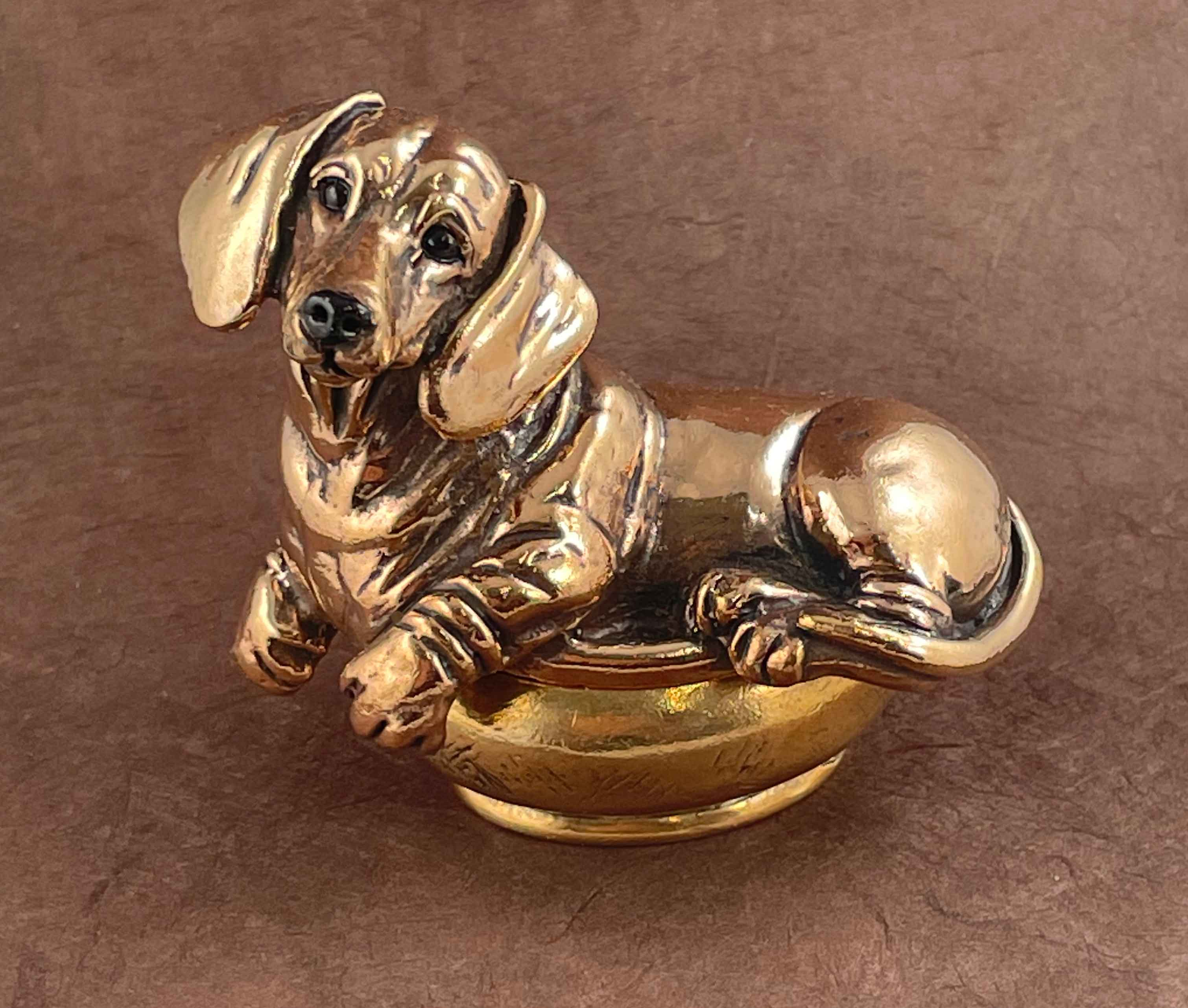 Tulip; One of a Kind Hand Sculpted Greyhound Statue