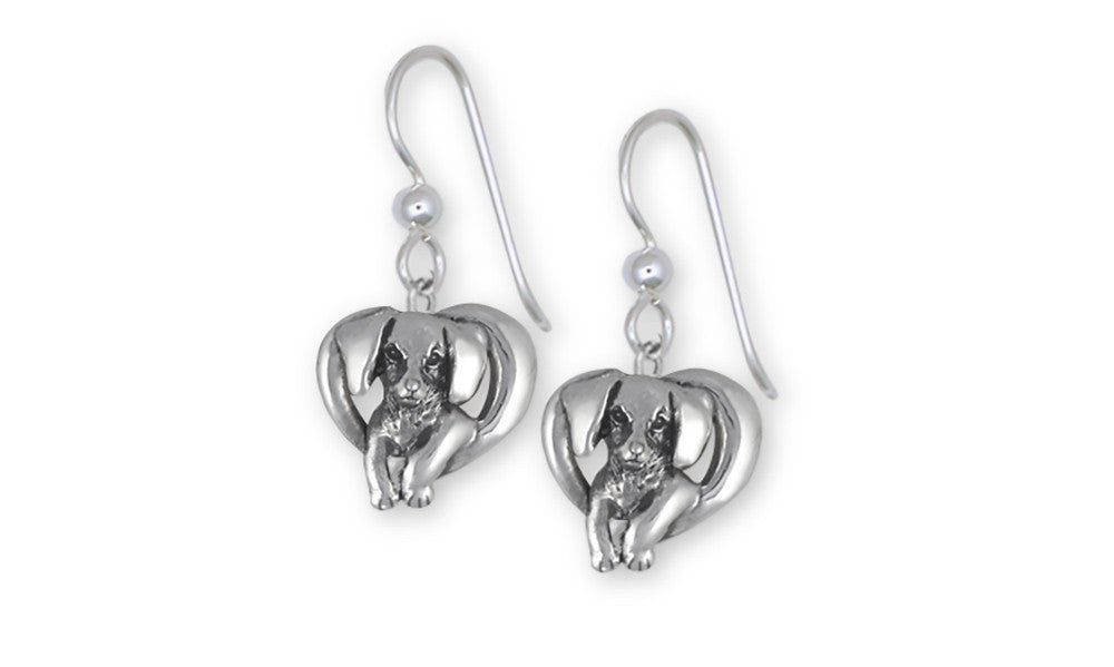 Dachshund Charms Dachshund Earrings Sterling Silver Dog Jewelry Dachshund jewelry