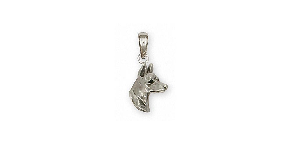 Doberman Pincher Charms Doberman Pincher Pendant Sterling Silver Dog Jewelry Doberman Pincher jewelry