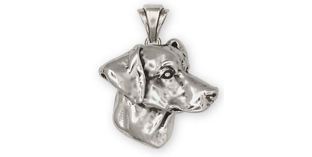 Doberman Pinscher Charms Doberman Pinscher Pendant Sterling Silver Dobie Jewelry Doberman Pinscher jewelry