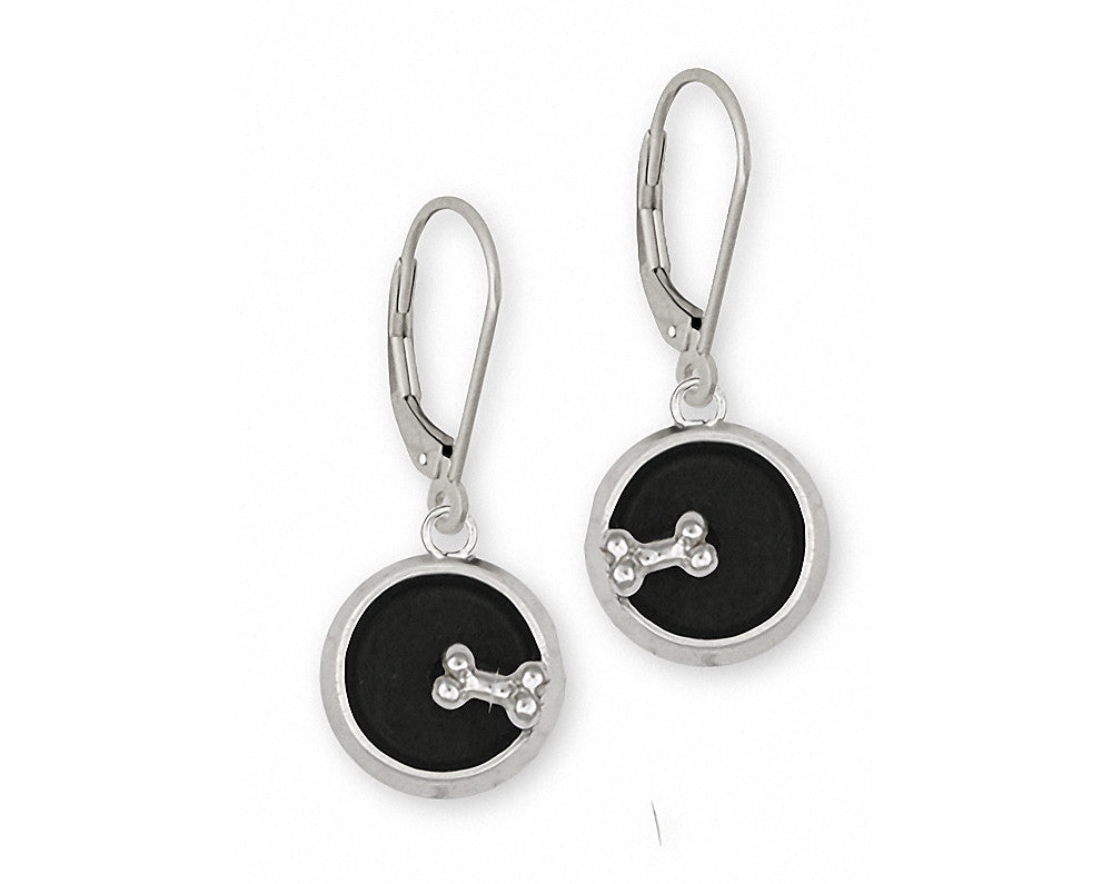 Dog Bowl Charms Dog Bowl Earrings Sterling Silver Dog Jewelry Dog Bowl jewelry