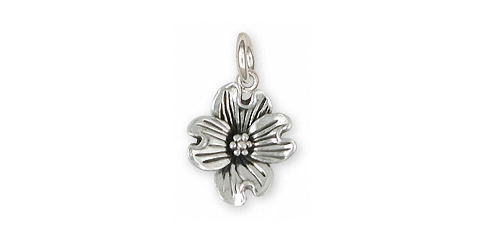 Dogwood Flower Charm Sterling Silver Esquivel And Fees Handmade