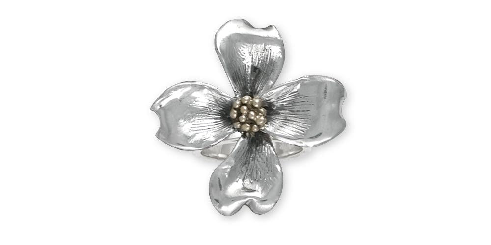 Dogwood Flower Ring Sterling Silver Esquivel And Fees Handmade
