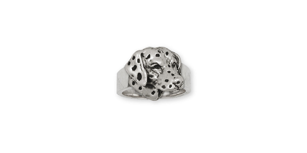 Dalmatian Dog Charms Dalmatian Dog Ring Sterling Silver Dog Jewelry Dalmatian Dog jewelry