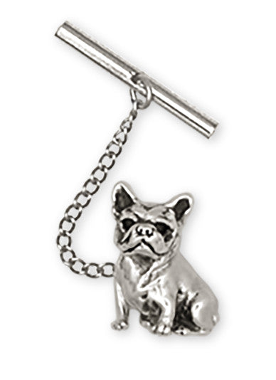 French Bulldog Tie Tack Handmade Sterling Silver Dog Jewelry DO9-TT