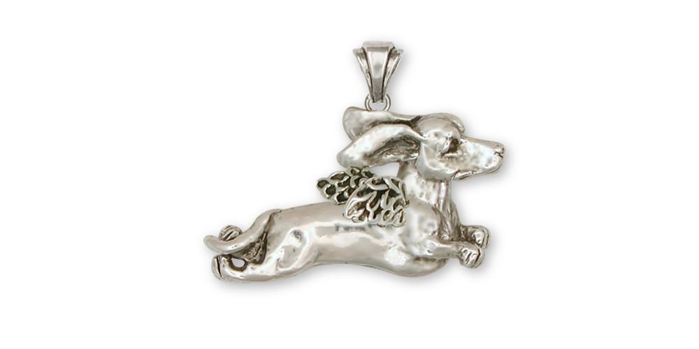 Dachshund Charms Dachshund Pendant Sterling Silver Dog Jewelry Dachshund jewelry
