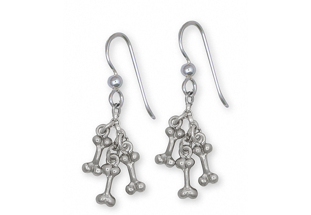 Dog Bone Ristra Charms Dog Bone Ristra Earrings Sterling Silver Dog Jewelry Dog Bone Ristra jewelry