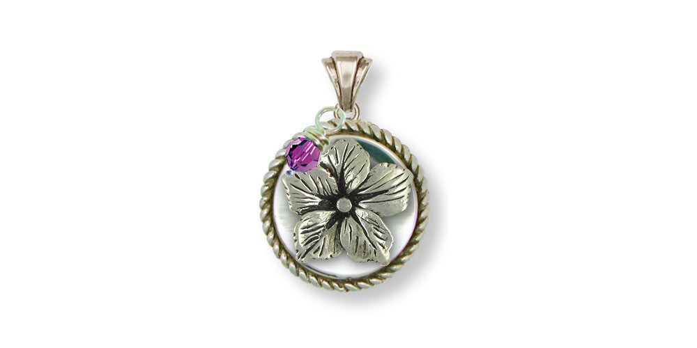 Drummond Phlox Charms Drummond Phlox Pendant Sterling Silver Flower Jewelry Drummond Phlox jewelry