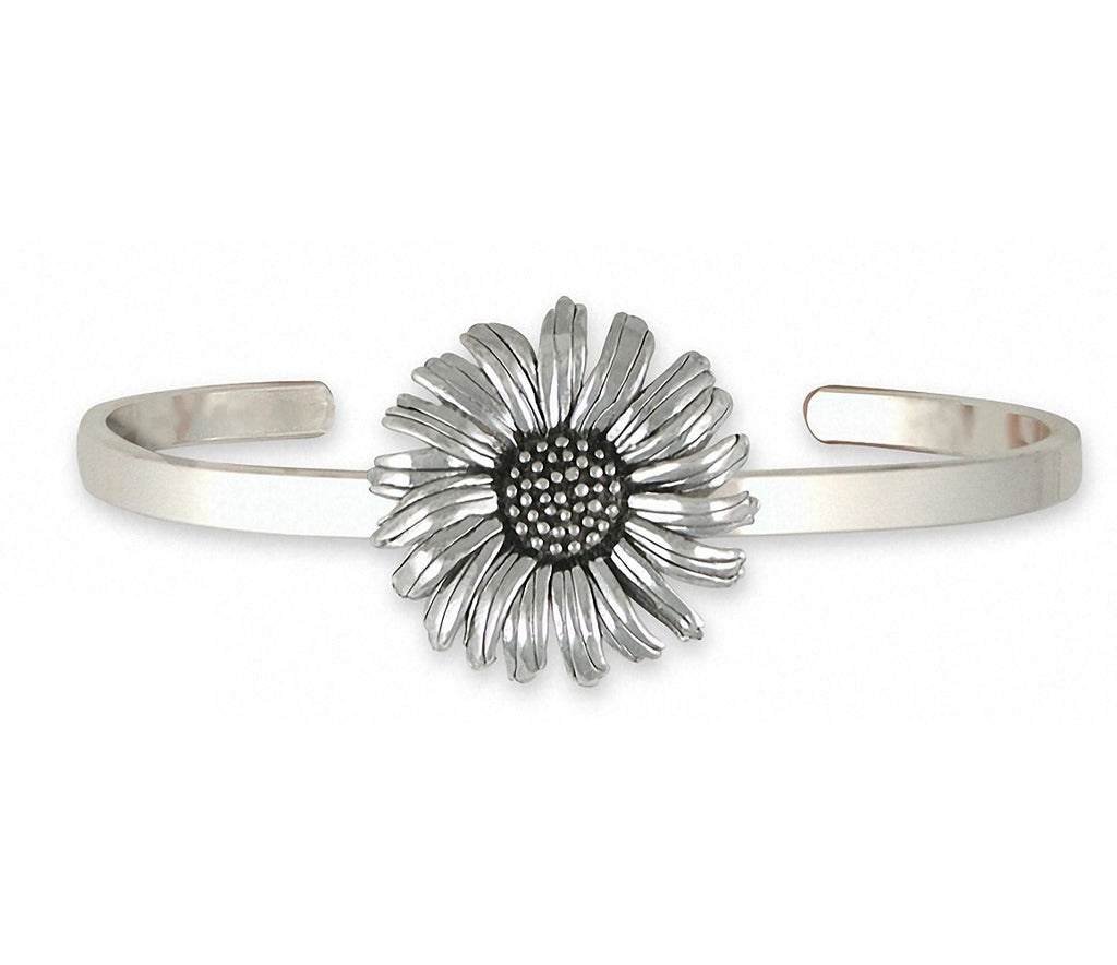 Daisy Charms Daisy Bracelet Sterling Silver Flower Jewelry Daisy jewelry