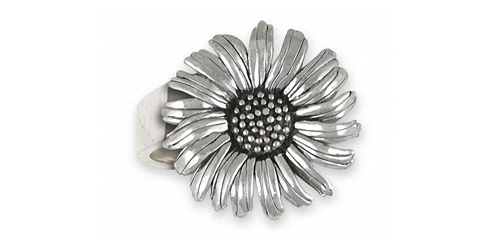 Daisy Charms Daisy Ring Sterling Silver Flower Jewelry Daisy jewelry