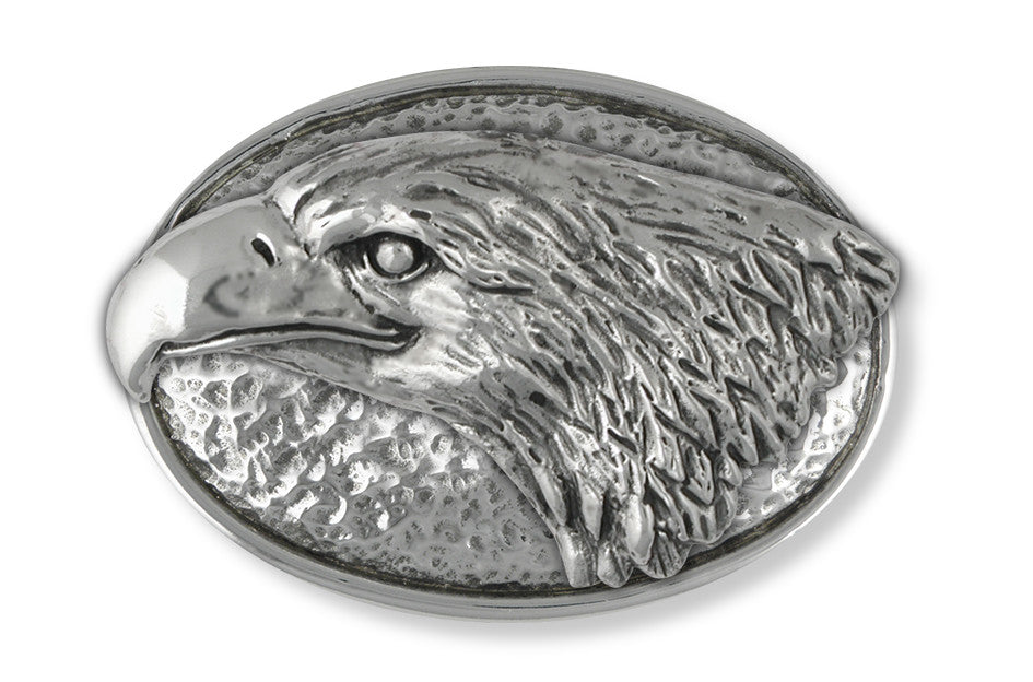 Eagle Charms Eagle Belt Buckle Handmade Sterling Silver Wildlife Jewelry EAGLE jewelry