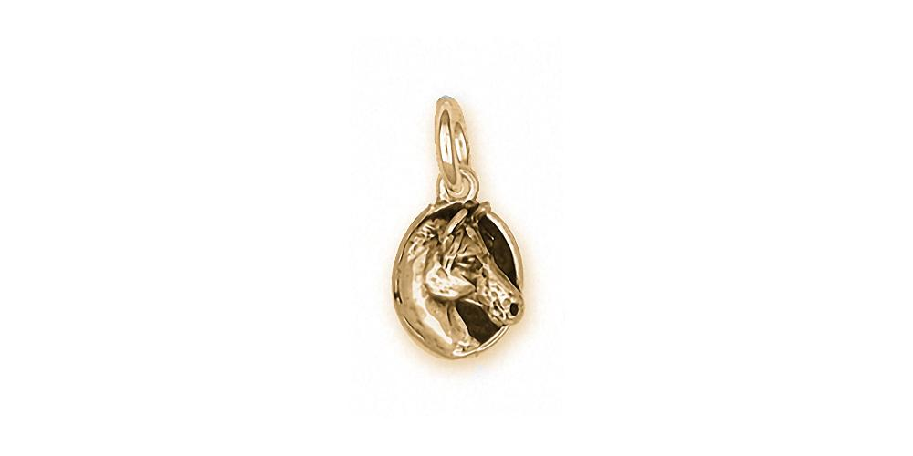 Horse Charms Horse Charm 14k Gold Horse Jewelry Horse jewelry
