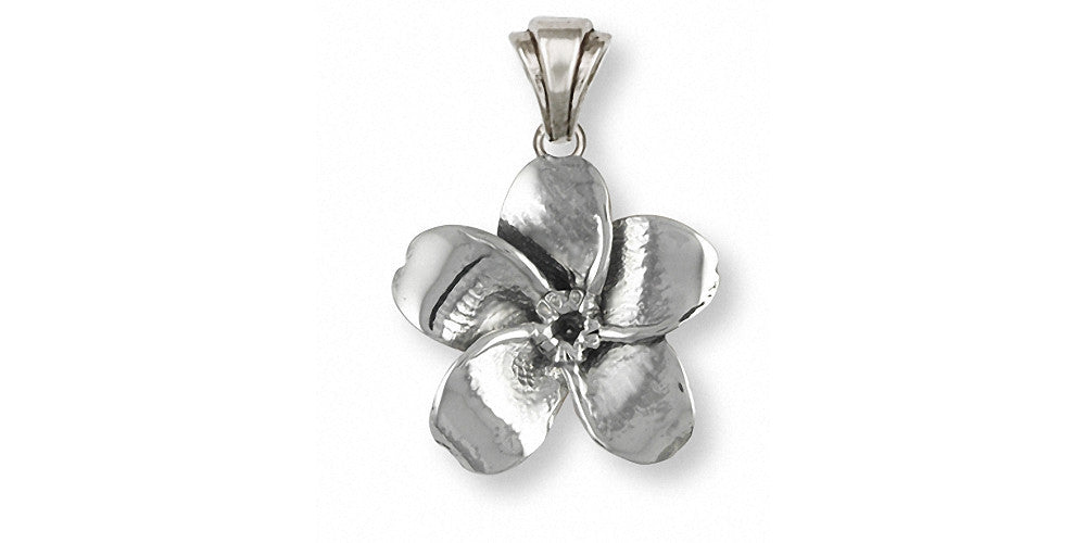 Forget Me Not Charms Forget Me Not Pendant Sterling Silver Flower Jewelry Forget Me Not jewelry