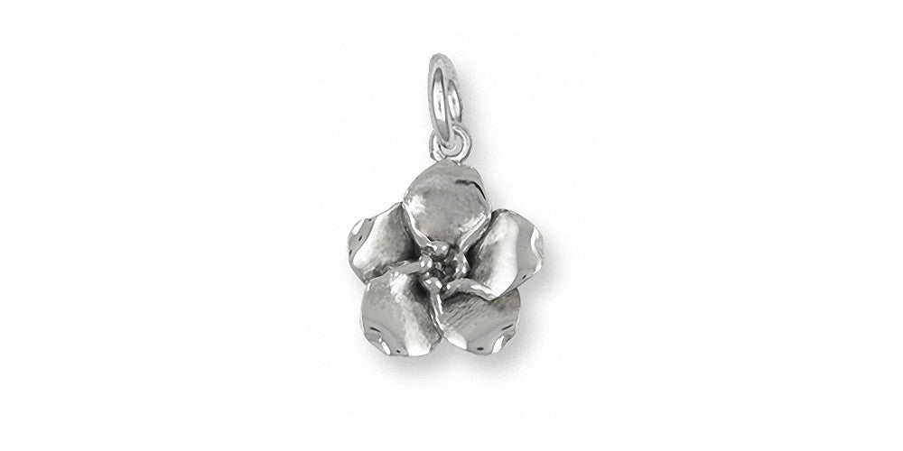 Forget Me Not Charms Forget Me Not Charm Sterling Silver Flower Jewelry Forget Me Not jewelry