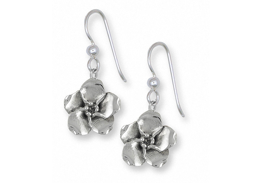 Forget Me Not Charms Forget Me Not Earrings Sterling Silver Flower Jewelry Forget Me Not jewelry