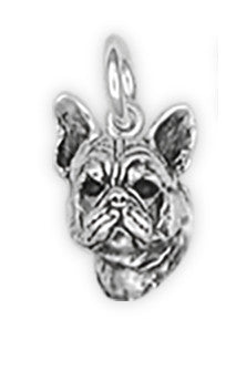 French Bulldog Charm Handmade Sterling Silver Dog Jewelry FR6-C