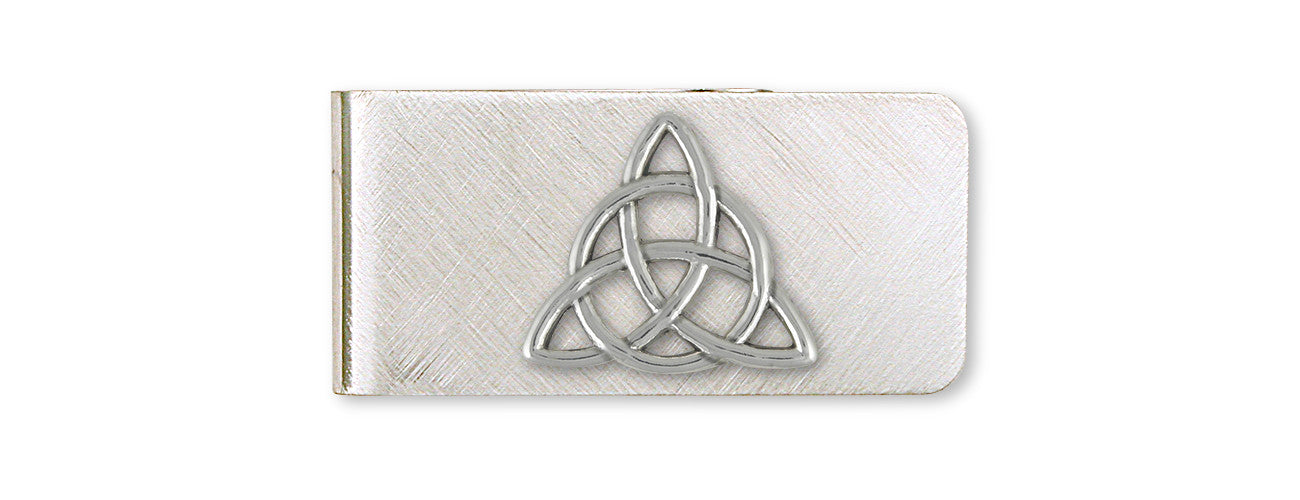 Father And Son Celtic Knot Money Clip Sterling Silver Esquivel And