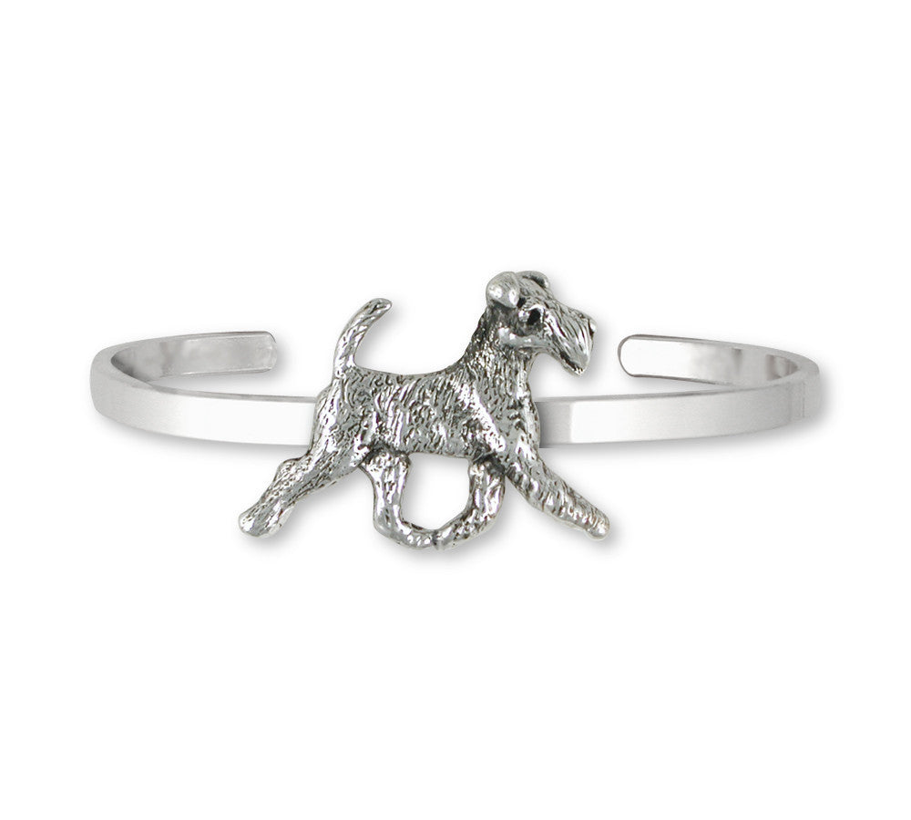 Fox Terrier Charms Fox Terrier Bracelet Sterling Silver Dog Jewelry Fox Terrier jewelry