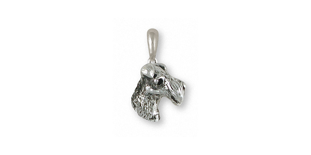 Fox Terrier Charms Fox Terrier Pendant Sterling Silver Dog Jewelry Fox Terrier jewelry