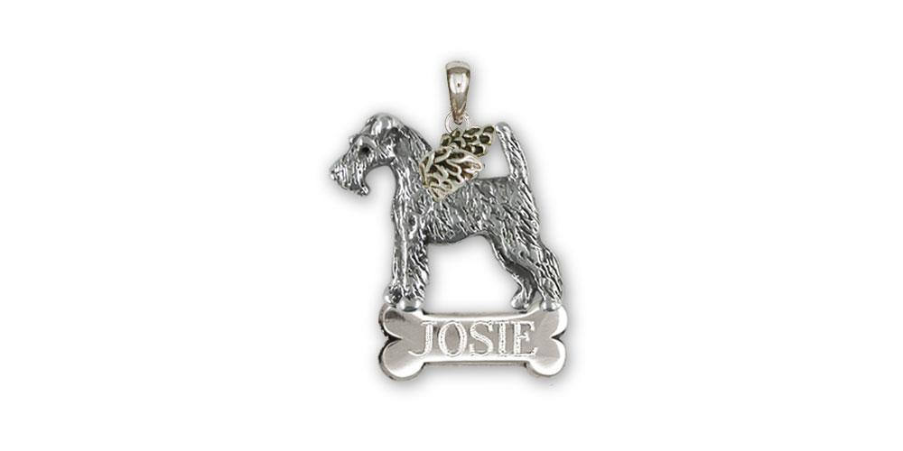 Fox Terrier Charms Fox Terrier Pendant Sterling Silver Fox Terrier Jewelry Fox Terrier jewelry