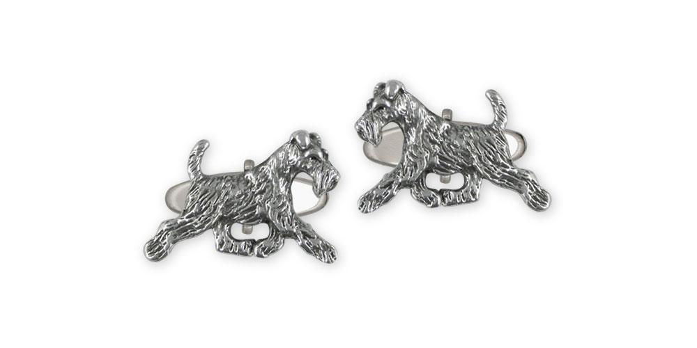 Fox Terrier Charms Fox Terrier Cufflinks Sterling Silver Fox Terrier Jewelry Fox Terrier jewelry