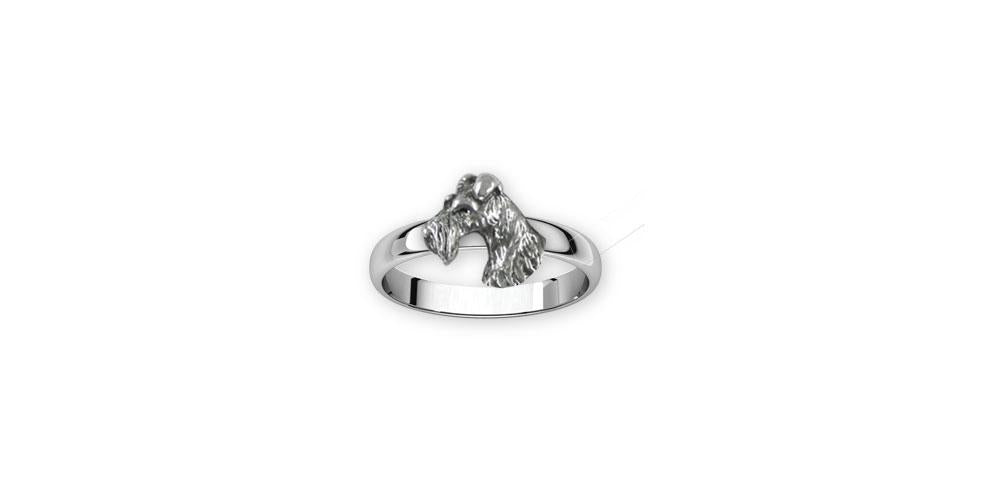 Fox Terrier Charms Fox Terrier Ring Sterling Silver Fox Terrier Jewelry Fox Terrier jewelry