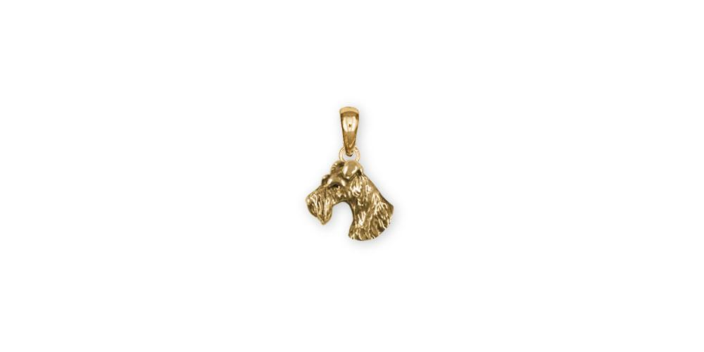 Fox Terrier Charms Fox Terrier Pendant 14k Gold Fox Terrier Jewelry Fox Terrier jewelry