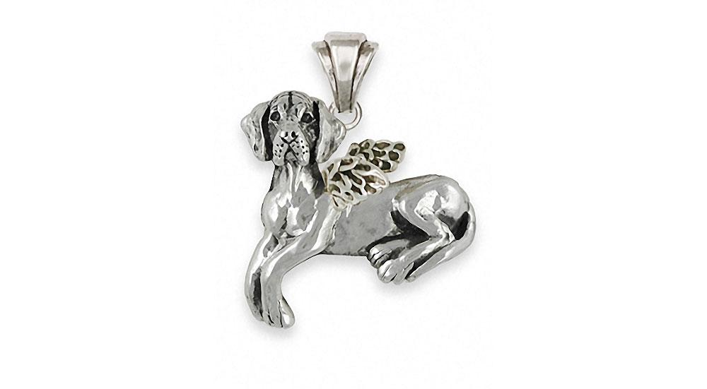 Great Dane Charms Great Dane Pendant Sterling Silver Dog Jewelry Great Dane jewelry