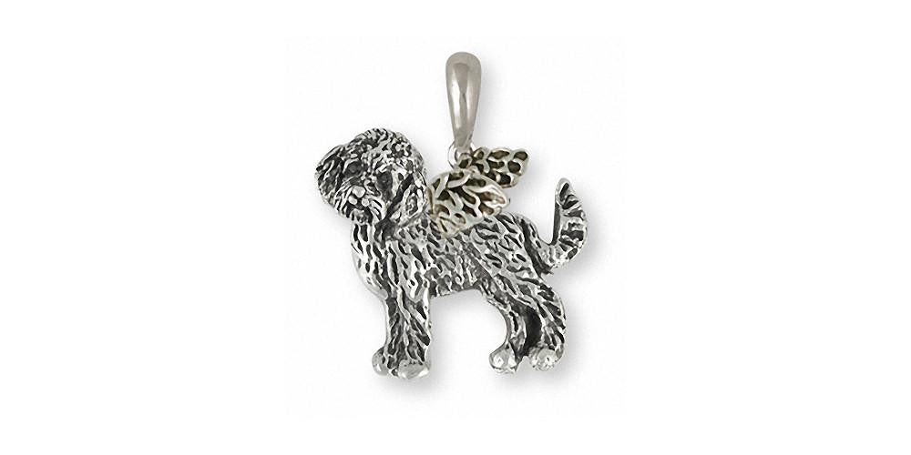 Goldendoodle Charms Goldendoodle Pendant Sterling Silver Dog Jewelry Goldendoodle jewelry