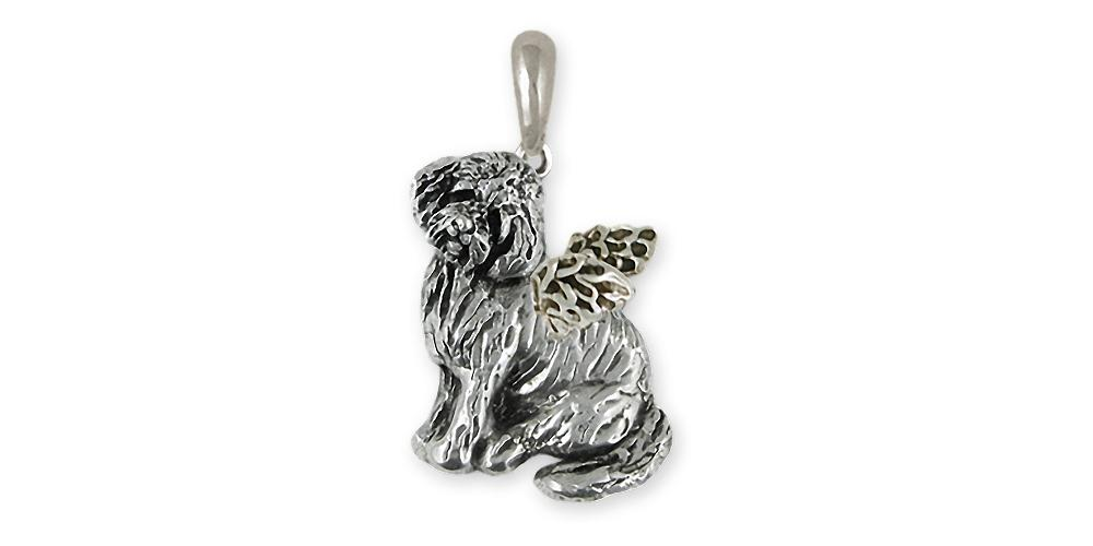 Goldendoode Charms Goldendoode Pendant Sterling Silver Goldendoodle Jewelry Goldendoode jewelry