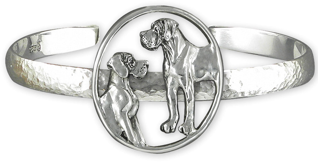 Great Dane Charms Great Dane Bracelet Sterling Silver Great Dane Jewelry Great Dane jewelry