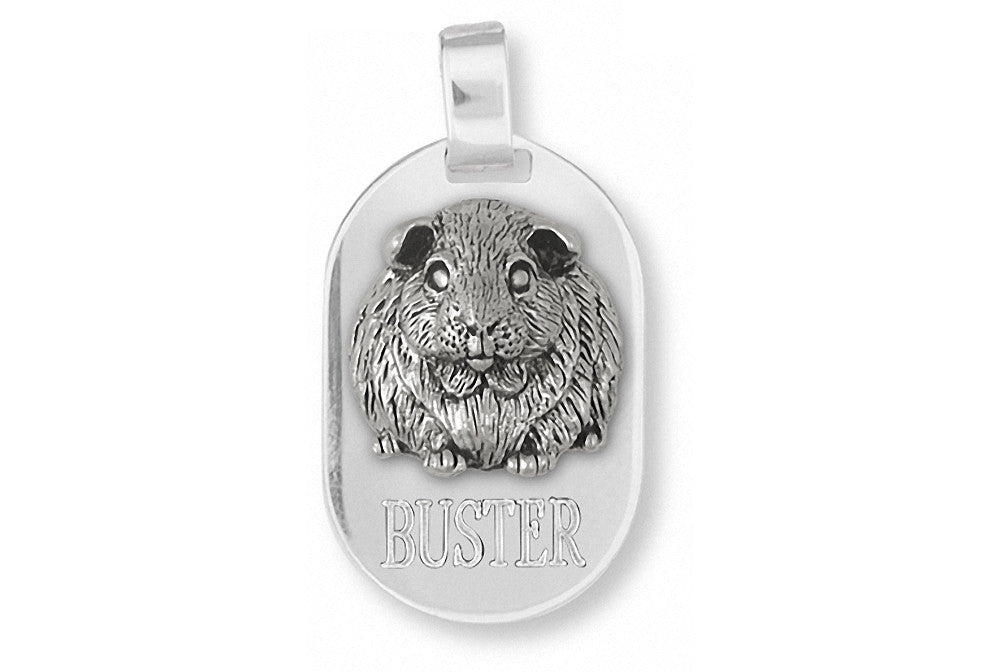 Guinea Pig Charms Guinea Pig Pendant Sterling Silver Piggie Jewelry Guinea Pig jewelry