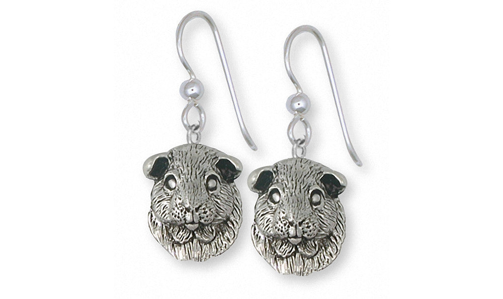 Guinea Pig Charms Guinea Pig Earrings Sterling Silver Piggie Jewelry Guinea Pig jewelry