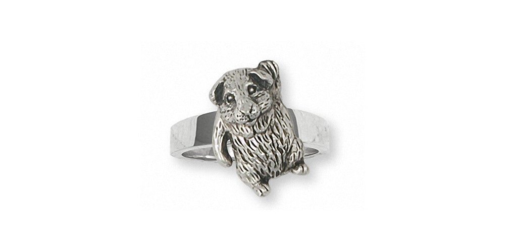 Guinea Pig Charms Guinea Pig Ring Sterling Silver Piggie Jewelry Guinea Pig jewelry