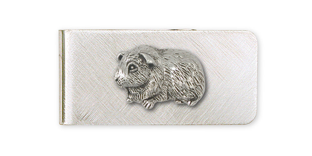 Guinea Pig Charms Guinea Pig Money Clip Sterling Silver Piggie Jewelry Guinea Pig jewelry