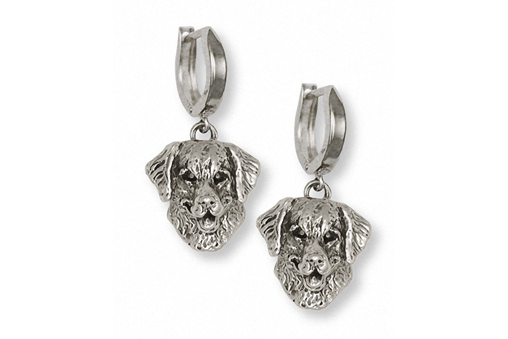 Golden Retriever Charms Golden Retriever Earrings Sterling Silver Dog Jewelry Golden Retriever jewelry