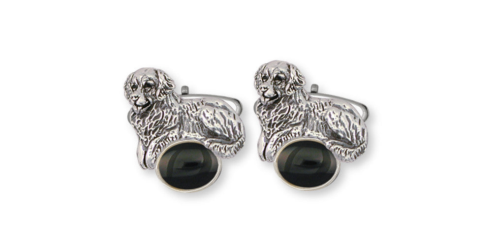 Golden Retriever Charms Golden Retriever Cufflinks Sterling Silver Dog Jewelry Golden Retriever jewelry