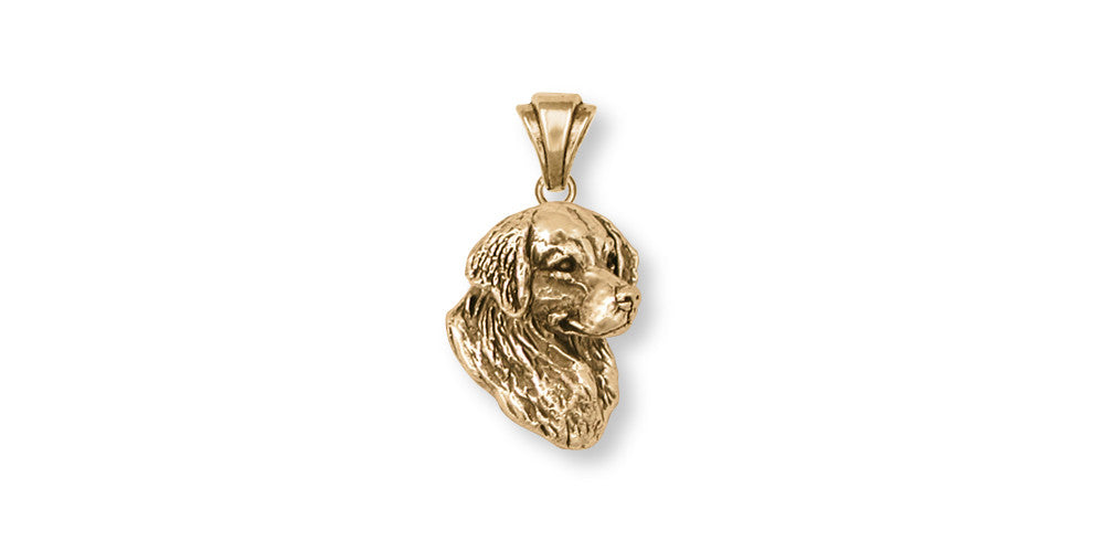Golden Retriever Charms Golden Retriever Pendant 14k Gold Dog Jewelry Golden Retriever jewelry