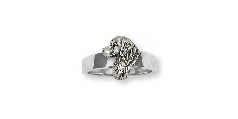 Golden Retriever Charms Golden Retriever Ring Sterling Silver Dog Jewelry Golden Retriever jewelry