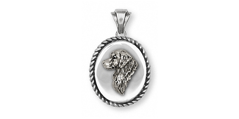 Golden Retriever Charms Golden Retriever Pendant Sterling Silver Dog Jewelry Golden Retriever jewelry