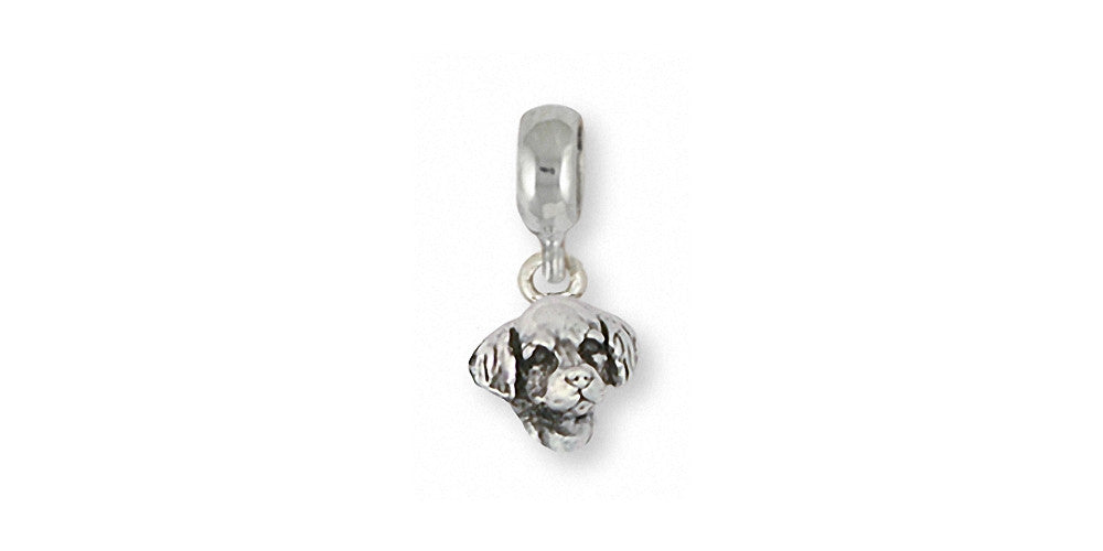 Golden Retriever Charms Golden Retriever Charm Slide Sterling Silver Dog Jewelry Golden Retriever jewelry