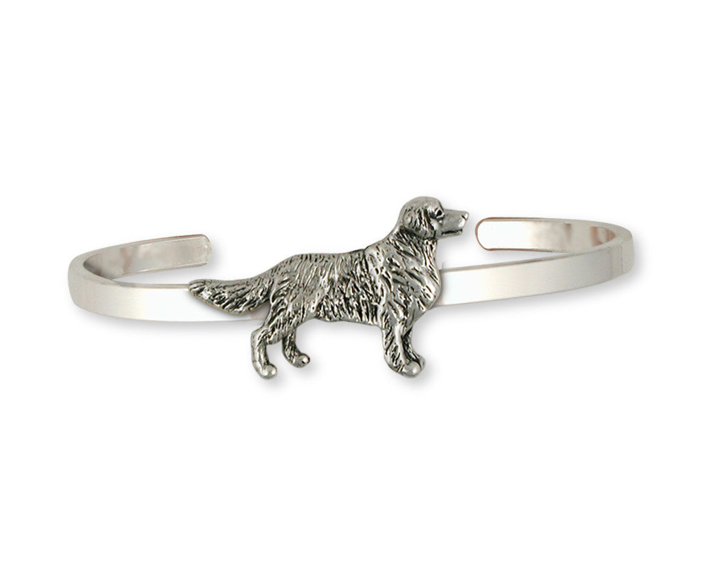 Golden Retriever Charms Golden Retriever Bracelet Sterling Silver Dog Jewelry Golden Retriever jewelry