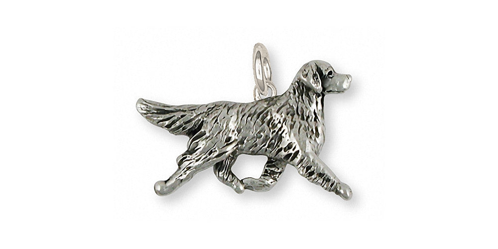 Golden Retriever Charms Golden Retriever Charm Sterling Silver Dog Jewelry Golden Retriever jewelry
