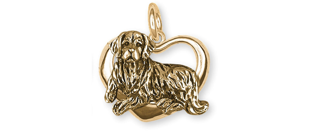 Golden Retriever Charms Golden Retriever Charm 14k Gold Golden Retriever Jewelry Golden Retriever jewelry